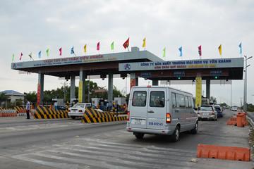 Tạm dừng thu phí cao tốc TPHCM - Trung Lương từ 0 giờ 1/1/2019