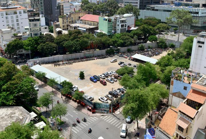 Dự án 5.300 tỷ trên 'đất vàng' TP HCM bị giảm chiều cao, không còn chức năng căn hộ bán
