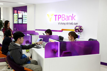 TPBank báo lãi trước thuế 2.258 tỷ đồng, tăng gần gấp đôi năm 2017