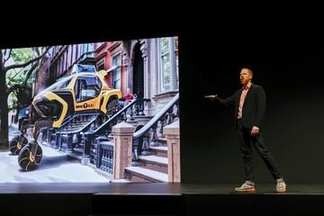 Màn hình khổng lồ và ôtô đi bộ: Những phát minh tốt nhất CES 2019