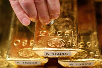 USD suy yếu, giá vàng tăng sát mốc 1.300 USD