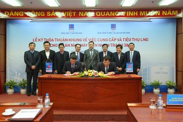 PV Gas và PV Power ký thỏa thuận khung về cung cấp và tiêu thụ LNG