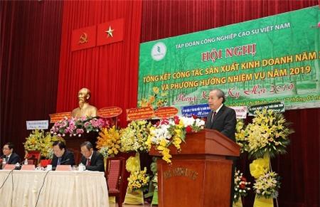 Tập đoàn Cao su Việt Nam đặt kế hoạch lợi nhuận 4.800 tỷ đồng trong năm 2019