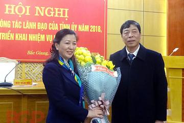 Bắc Giang có nữ Phó Bí thư thường thực tỉnh ủy 7x