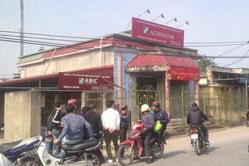 Táo tợn cướp tại Agribank Thái Bình giữa ban ngày