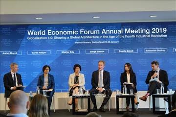 Davos 2019: Chuyên gia quốc tế đánh giá vai trò ngày càng quan trọng của Việt Nam