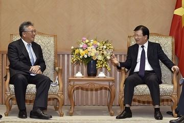 Tập đoàn Marubeni, Nhật Bản muốn mở rộng đầu tư tại Việt Nam
