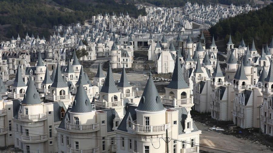 Thị trấn 'ma' 200 triệu USD của Thổ Nhĩ Kỳ