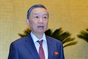 Ông Tô Lâm, Lương Cường được phong hàm Đại tướng