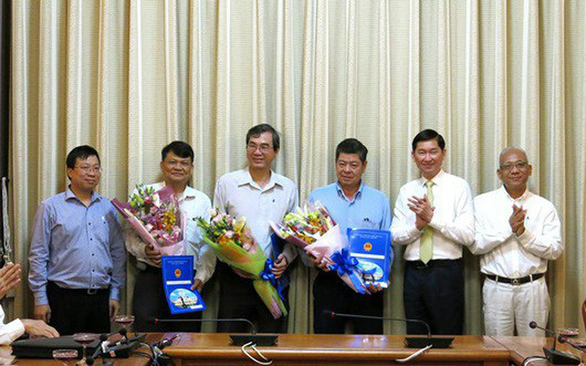TP HCM bổ nhiệm hàng loạt nhân sự mới