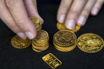 USD tăng giá, giá vàng gần chạm đáy một tuần