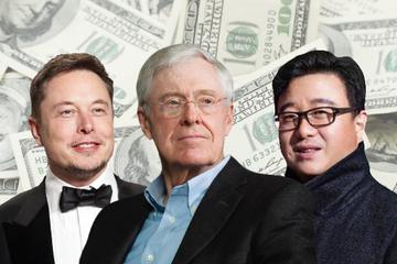 10 tỷ phú tuổi Hợi giàu nhất thế giới