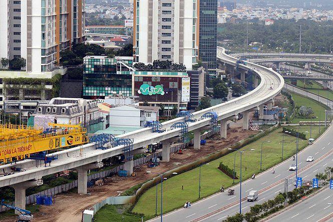 Cận cảnh ga ngầm 4 tầng tuyến metro Bến Thành - Suối Tiên