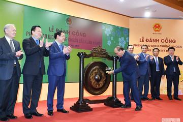 Đánh cồng đầu năm, Thủ tướng nêu 8 trọng tâm phát triển thị trường chứng khoán