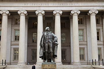 Nợ công Mỹ chạm mốc cao kỷ lục