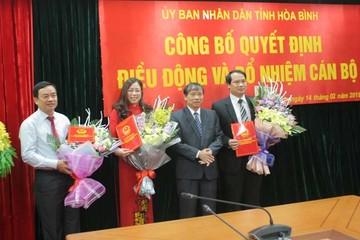 Thay đổi nhân sự Hòa Bình, Thừa Thiên Huế, Ninh Thuận