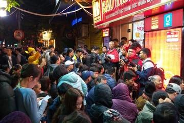 Cãi vã ở 'phố vàng' Trần Nhân Tông lúc 6h sáng ngày vía Thần Tài
