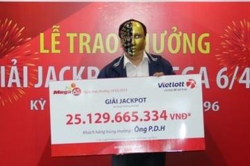 Ngày Thần Tài, khách hàng Quảng Ninh nhận Jackpot Vietlott 25 tỷ đồng