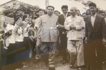 Hai chuyến thăm Việt Nam của lãnh đạo Triều Tiên Kim Nhật Thành