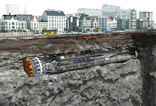 Tuyến metro Nhổn - ga Hà Nội dùng robot đào hầm từ tháng 4