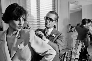 Hành trình chinh phục làng thời trang của huyền thoại Karl Lagerfeld