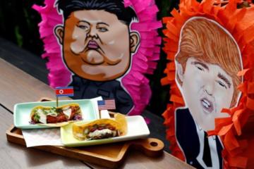 Chiêu kiếm tiền từ hội nghị Trump - Kim của Singapore