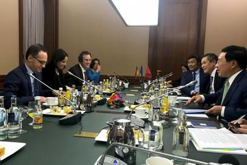 Đức sẽ thúc đẩy phê chuẩn EVFTA sớm nhất
