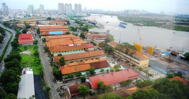 TP HCM kiến nghị chuyển đổi cầu tàu Ba Son thành bến tàu thủy