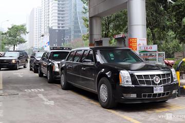 Xăng dầu cho đoàn xe của Tổng thống Mỹ được cung cấp thế nào ở Việt Nam?
