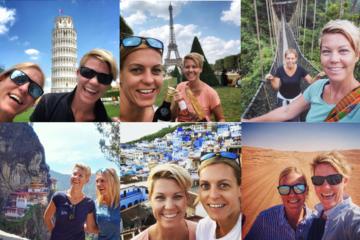 [Đi và trải nghiệm] 2 cô gái đi 147 nước trong 15 năm