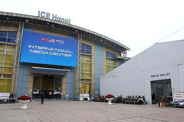 Trung tâm báo chí hoàn thiện trước thềm Hội nghị thượng đỉnh Mỹ-Triều
