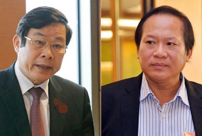 Vì sao 2 cựu bộ trưởng Nguyễn Bắc Son và Trương Minh Tuấn bị bắt?