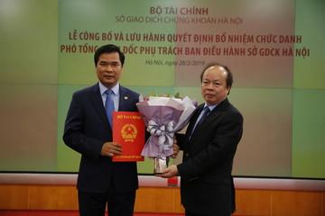 Bà Nguyễn Thị Hoàng Lan nghỉ hưu theo chế độ, HNX có Phó TGĐ Phụ trách Ban điều hành mới