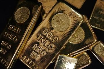 USD tăng giá, vàng chạm đáy 2 tuần