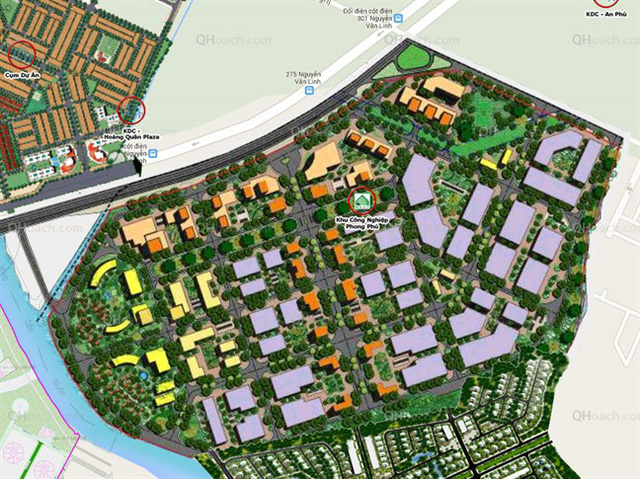 TP HCM thanh tra dự án Khu công nghiệp Phong Phú