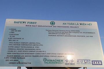 Đang tìm cách bán các phần có thể trong dự án thua lỗ nghìn tỷ của Vinachem tại Lào
