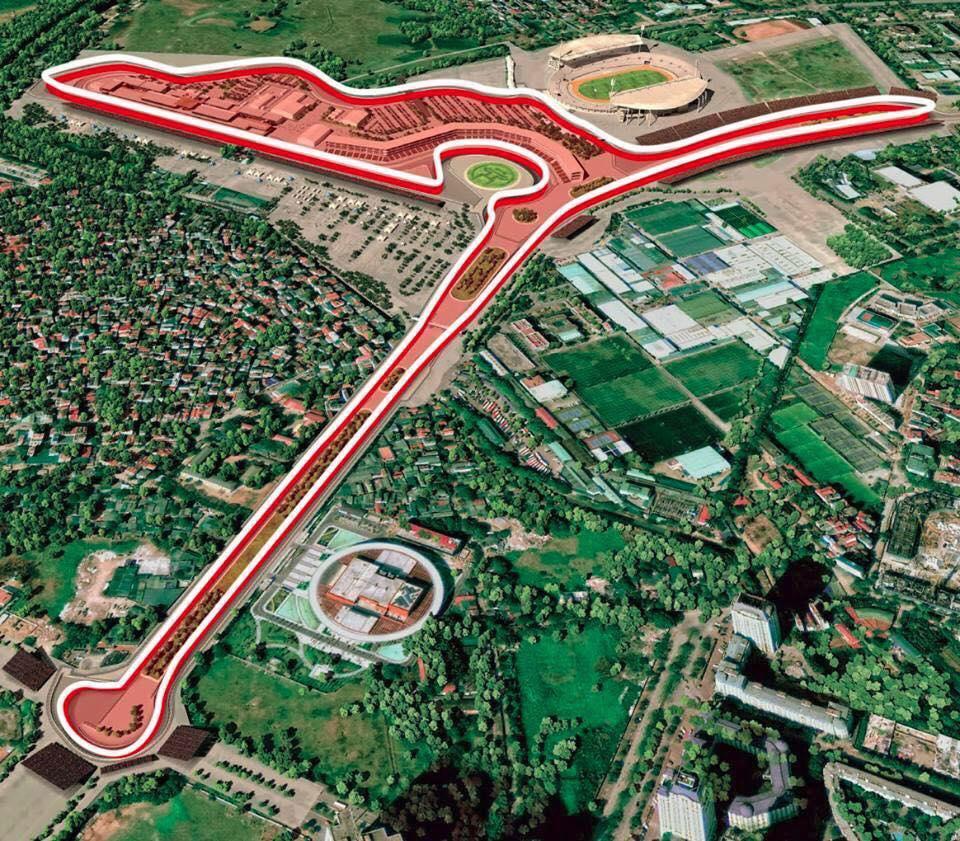 Chính thức phê duyệt quy hoạch chi tiết đường đua F1, dự kiến hoàn thành tháng 4/2020