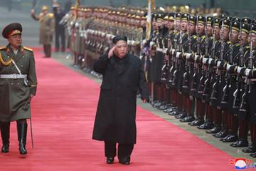 Chủ tịch Kim Jong-un về đến Bình Nhưỡng