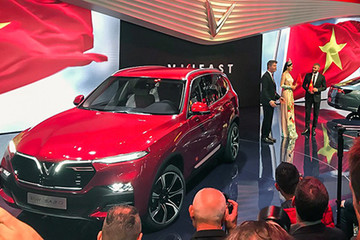 Xe VinFast sắp dự triển lãm ở Thụy Sĩ