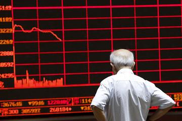 Chứng khoán Trung Quốc bị bán tháo mạnh nhất gần 5 tháng