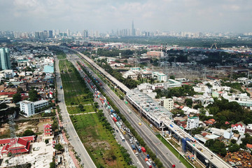 TP HCM xin ứng ngân sách Trung ương hơn 2.150 tỷ đồng cho dự án metro số 1