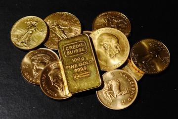USD tăng giá so với euro, giá vàng giảm nhẹ