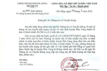 Đà Nẵng bác tin đồn có thêm quận mới để dập tắt việc 'thổi' giá đất