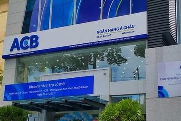 ACB lãi 1.610 tỷ đồng từ thu hồi khoản nợ nhóm G6