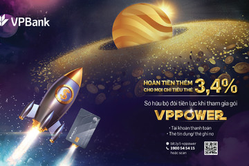 'Bão hoàn tiền' với gói sản phẩm VPPower từ VPBank