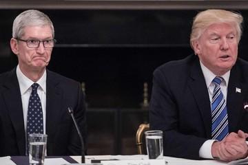 Trump nói rằng ông gọi 'Tim Apple' để tiết kiệm thời gian