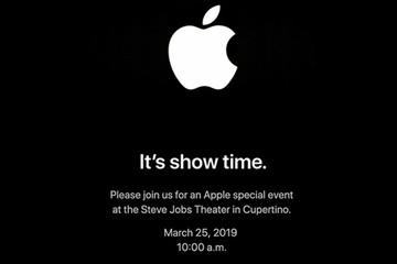 Apple gửi thư mời ra mắt sản phẩm mới ngày 25/3