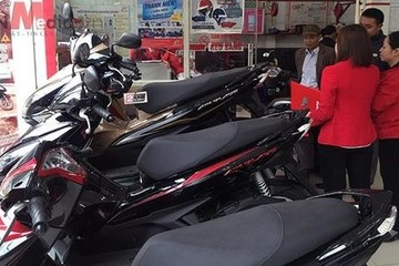 Honda Việt Nam bán hơn 148.000 xe máy trong tháng sau Tết