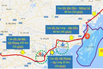 Ngày 30/3 dự kiến khởi công cao tốc hơn 11.000 tỷ đồng Vân Đồn - Móng Cái
