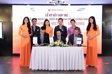 Viettel và Samsung hợp tác với website bất động sản Cenhomes.vn